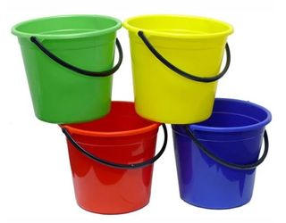 9.6L All Purpose Bucket Red