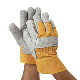 Heavy Duty Leather Protection Gloves