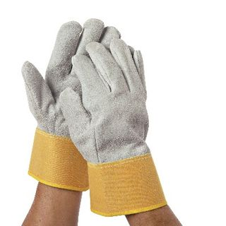 All purpose leather trimming gloves