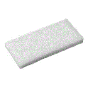 EAGER BEAVER WHITE FLOOR PAD