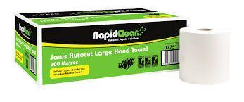 RAPIDCLEAN  AUTOCUT HAND TOWEL - 200 METERS