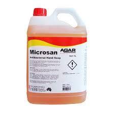 AGAR MICROSAN ANTIBACTERIAL HAND WASH 5LT