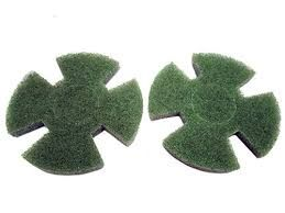 I-MOP XL GREEN TWISTER PADS (SET OF 2)