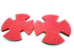I-MOP XL RED EVERYDAY CLEANING PADS (SET OF 2)