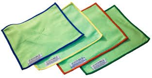 I-FIBRE EDOUBLE GREEN DOUBLE SIDED CLOTH