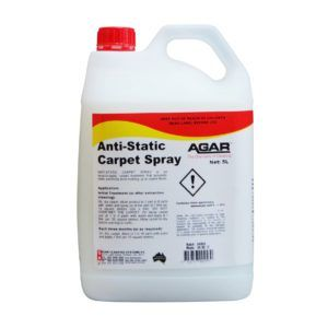 AGAR ANTI-STATIC CARPET SPRAY 5L