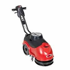 COMPACT WALK BEHIND SCRUBBER