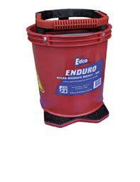 EDCO WRINGER BUCKET RED