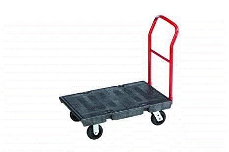 RUBBERMAID PLATFORM TRUCK HEAVY DUTY - 453.6KG LOAD CAPACITY
