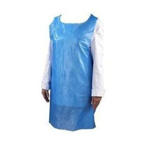DISPOSABLE APRON BLUE 500 PER