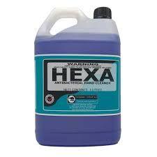 HEXA ANTIBACTERIAL FOAM HAND WASH 5LT