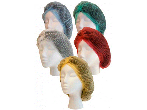 CRIMPED BERETS YELLOW