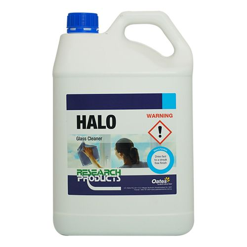 HALO FAST DRY GLASS CLEANER 5LT