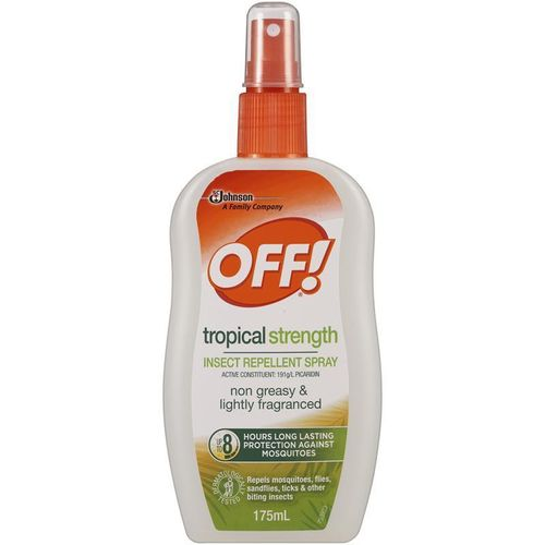 OFF!! TROPICAL STRENGHT INSECT REPLELLENT SPRAY