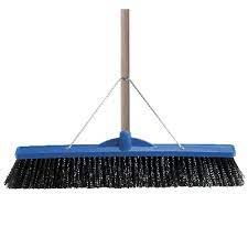 OATES 600MM INDUSTRIAL EXTRA STIFF POLY BROOM