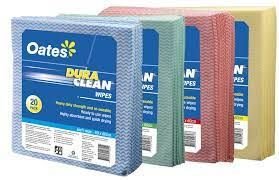 OATES DURACLEAN WIPES 20 PACK - RED