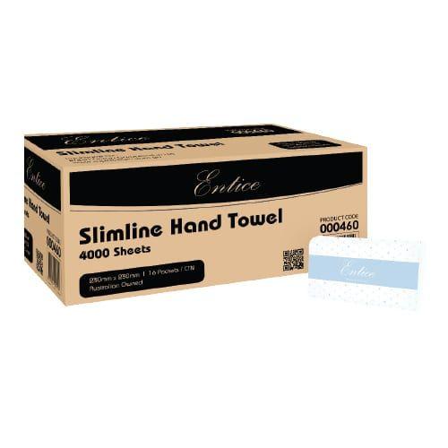 RAPIDCLEAN ENTICE SLIMLINE HAND TOWEL - 4000 SHEET
