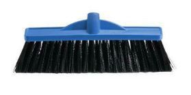 OATES 350MM INDUSTRIAL EXTRA STIFF POLY BROOM - HEAD ONLY