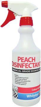 PEACH DISINFECTANT BOTTLE - 500ML