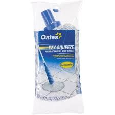 OATES EZY SQUEEZE ANTIBAC CONE WRINGING MOP REFILL (DISCONTINUED)