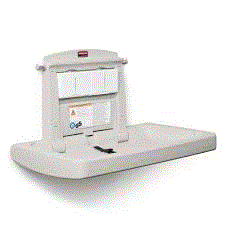 RUBBERMAID BABY CHANGING STATION - HORIZONTAL