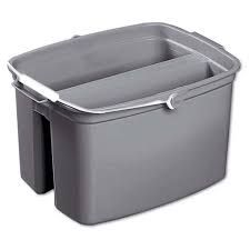 RUBBERMAID DOUBLE BUCKET SMALL