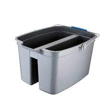 OATES DIVIDED PAIL BUCKET 18LT