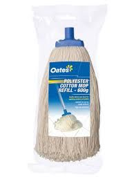 OATES POLYESTER COTTON MOP REFILL - 600g