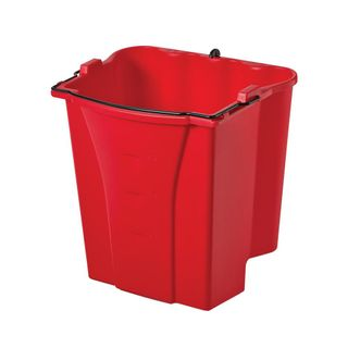 RED DIRTY WATER BUCKET