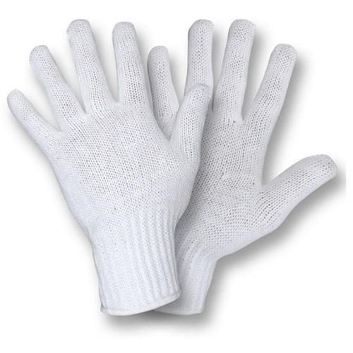 POLY COTTON LINER/OUTER GLOVES - SIZE LARGE