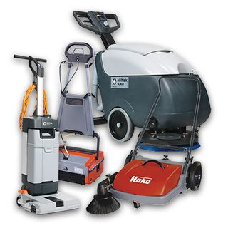 CLEANING MACHINES & EQUIPMENT