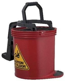 OATES DURACLEAN WRINGER BUCKET Mkll -RED -(IW-008R / 165434) -EACH