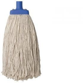 OATES POLY COTTON WHITE 350G MOP HEAD -EACH