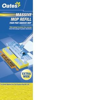 OATES MASSIVE FOUR POST SQUEEZE MOP REFILL (MS-101 / 165754)