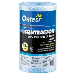 OATES CONTRACTOR ROLL - BLUE - 45MTR - ROLL