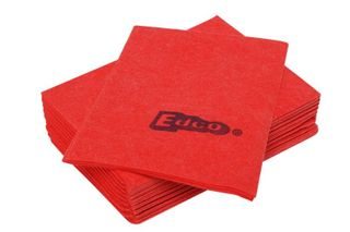 EDCO MERRITEX RED H.DUTY VISCOSE CLOTH 10-PACK