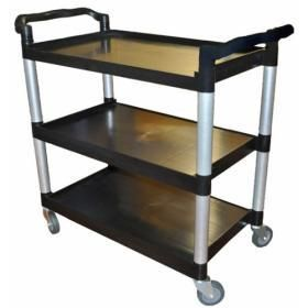 EDCO UTILITY CART / TROLLEY - 19051 - BLACK