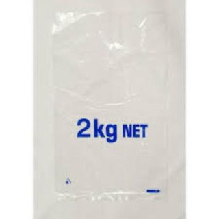 "TP 2KG VENTED ""PRINTED 2KG"" (410 X 260 MM) LDPE - 100 (CTN SALE ONLY)"