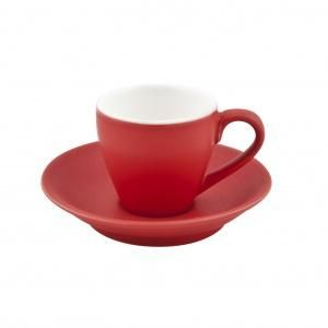 SAUCER FOR ESPRESSO CUPS ROSSO - 6 PACK - 978092 - PKT