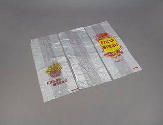 "TP PRINTED  ""FRESH BREAD "" PLASTIC BAGS HDPE 680G (455 X 180 + 100) - 500-PKT"