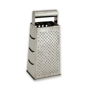 GRATER S/S 230MM 4 SIDED EA - 70345 - EACH