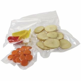 150 x 350 VOGUE EMBOSSED CRYOVAC VACUUM BAGS ( FOR UROPA MACHINE) - 50-PKT