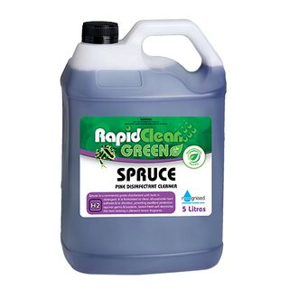 "Rapid Clean "" SPRUCE "" Pine Disinfectant Cleaner 5L (Recognised Environmental)"