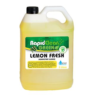 "Rapid Clean "" LEMON FRESH "" Disinfectant - 5L (Recognised Environmental)"