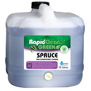"Rapid Clean "" SPRUCE "" Pine Disinfectant Cleaner 15L (Recognised Environmental)"