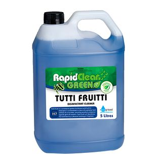 "Rapid Clean "" TUTTI FRUITTI "" Disinfectant - 5L (Recognised Environmental)"