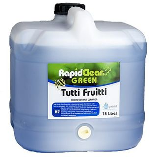 "Rapid Clean "" TUTTI FRUITTI "" Disinfectant - 15L (Recognised Environmental)"