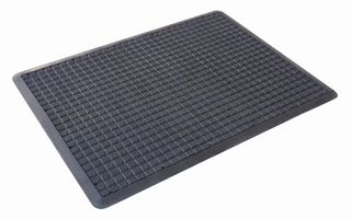 AIR GRID 90 cm X 120 cm GREASE PROOF BLACK MAT - EACH