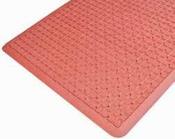 AIR GRID 90X120 GREASE RESISTANT MAT - RED