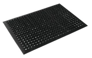 SAFETY CUSHION MAT  (Economy) -  60 X 90 - BLACK - EACH